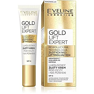 Eveline Gold Lift Expert - Anti-wrinkle eye cream - 15 ml