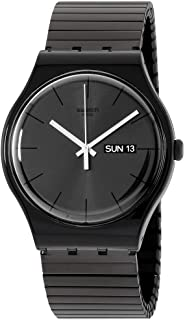 Swatch Originals Quartz Movement Black Dial Unisex Watch SUOB708A