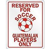 Guatemalan Soccer Player