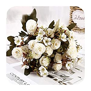 Artificial Flower Lilac Flowers New aPrettyRient Shore for Wedding Special Small Silk Flowers for Home Party Room Fake Flower Decor-Style 04