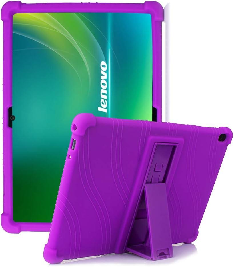 Hminsen - Funda De Silicona Para Lenovo Tab M10 violeta