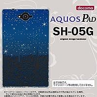 SH05G スマホケース AQUOS PAD SH-05G カバー アクオス パッド ビル nk-sh05g-1085