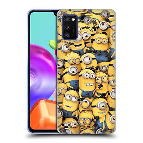 Head Case Designs Ufficiale Despicable Me Modelo Minions Divertenti Cover in Morbido Gel Compatibile con Samsung Galaxy A41 (2020)