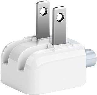 Droya AC Power Adapter Wall Folding Plug Duck Head,US Standard Plug Duck Head Compatible with MacBook Pro/MacBook Air/Mac iBook/iPhone/iPod AC Power Adapter (1 - Pack)