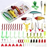 Best Smallmouth Bass Lures - XTON 78Pcs Fishing Lures Kit Set for Bass Review