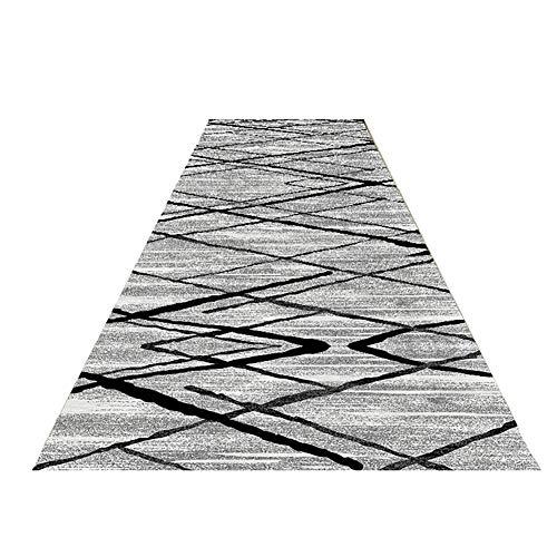 Pasillo Alfombras De Corredor Pasillo Largo Alfombra Patrón Geométri