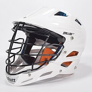 STX Stallion 575 White Lacrosse Helmet Small