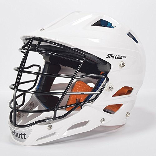 STX Stallion 575 White Lacrosse Helmet Small