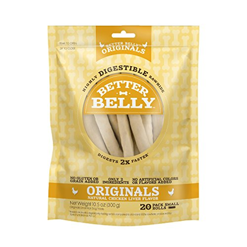 Better Belly Rawhides for Dogs