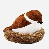 GYYOU 20 x 30 cm - 40 x 50 cm - Simulación del gorrión de la vida - Juguete de peluche con pájaro y nido