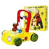 LTSWEET Baby Lauflernhilfen Gehfrei Lauflernwagen rutschfeste Räder Baby Walker Kinder Spielzeug...