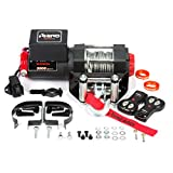 Rhino - Electric Winch 1360 Kg - Wireless Remote Control 12V - Steel Cable