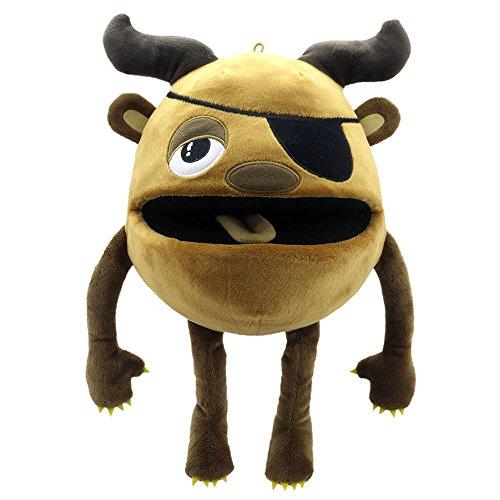The Puppet Company Monstruos bebé Marioneta de Mano, Marrón