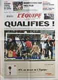 EQUIPE (L') [No 19496] du 18/11/2007 - TENNIS - FEDERER FERRER LE PLEIN DE SUPER - RUGBY - BIARRITZ S'EST FAIT TRES PEUR - NATATION - MANAUDOU RENTREE RECORD - TOUS SPORTS - DOPAGE - FAHEY ELU POUND SE LIVRE - QUALIFIES