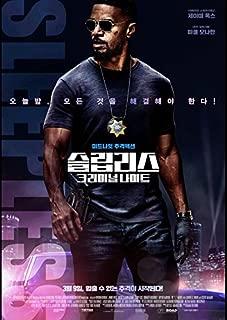 Sleepless 2017 Korean Mini Movie Posters Movie Flyers (A4 Size)