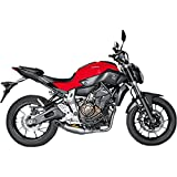 15-17 YAMAHA FZ07: Akrapovic Racing Full System Exhaust (Homologated/Titanium)