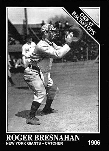 1993 Conlon Collection Baseball #871 Roger Bresnahan New York Giants Official MLB Trading Card From The Sporting News