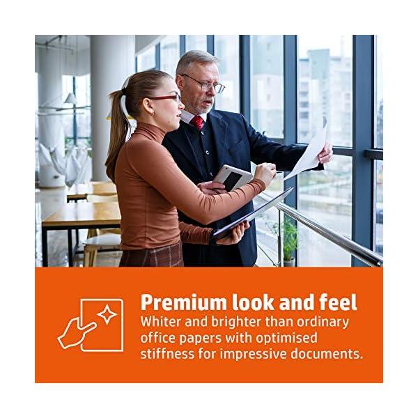Hewlett Packard - Folios para impresión, 90g/m², A4, blanco, caja que contiene 5paquetes de 500hojas : Papel HP A4de alta calidad 90g/m² Cada paquete contiene 500hojas (2500hojas en total)