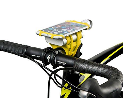 充電しながら使える スマホホルダー iPhone 7 Plusも対応 自転車 バイク ベビーカー Red Dot Award 2017受...