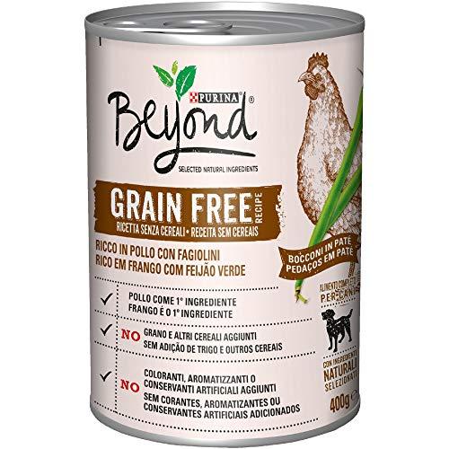 Beyond PURINA Húmedo Perro Grain Free Botes de Patata con Pollo y faisanes, 12 latas de 400 g Cada una (12 x 400 g)