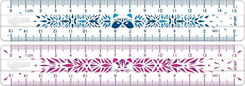 Maped - stossfestes Lineal STUDY FANCY 15 cm