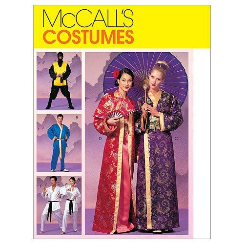 Mc Call´s Schnittmuster 2940 Z Kostüme für Damen,Herren & Jungen Gr. L - XL