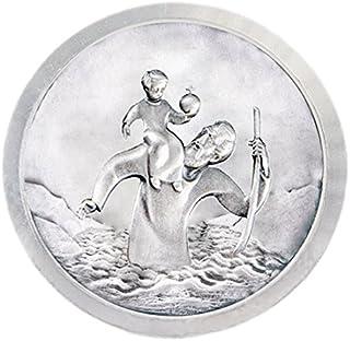 Fritz Cox Auto Medalla San Crist/óbal Modern sin Borde