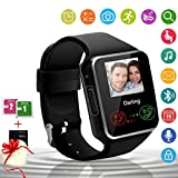 Android Smart Watch Bluetooth Smart Watch with Camera SIM Card Slot Touch Screen Smartwatch Fitness Tracker Sleep Pedometer Sports Activity Tracker Compatible for Android iOS Smartphones