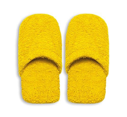 Excelsa Zapatillas de baño, Esponja, Amarillo, 36–40, 2Unidad