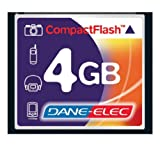 Canon EOS Rebel XTi Digital Camera Memory Card 4GB CompactFlash Memory Card