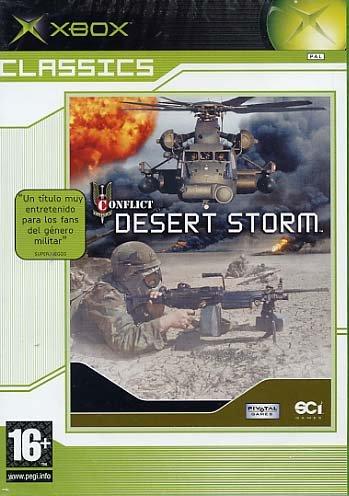 Conflict Desert Storm Classic - Xbox