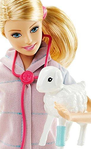 Coffret de Jeu Barbie Vétérinaire de Ferme - 10