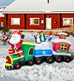 Top 10 Outdoor Christmas Train Decorations
