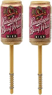 Leikenkugel's Berry Weiss Beer Can Bobber - Fishing Tackle, Fishing Terminal Tackle 2 Pack