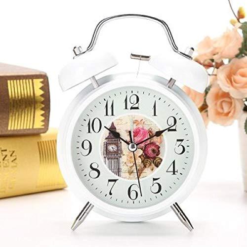 FPRW Eenvoudige Retro Alarm Klok, Regelmatige Wekken Mini Klok Alarm Klok, Grote Ringtone Wekker Wekker, Big Ben
