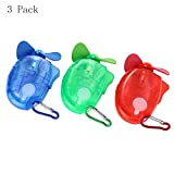 3 inch, 2-in-1 Misting Fan: Powerful Fan and Cool Mist Option Assorted Color: random Uses 1 AA battery (not included) Compact water misting fan Fashion movement.The fan leaves are random.