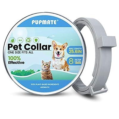 Umran PUPMATE Collar for Dogs  Cats, 100% Natur...