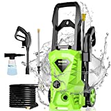 Homdox Pressure Washer, Power Washer with Permissible Pressure with MAX 2030 PSI,1.72GPM, HD5218 with 4 Nozzles Foam Cannon,Best for Cleaning Homes, Cars, Driveways, Patios