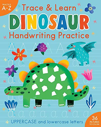 Trace & Learn Handwriting Practice: Dinosaur (iSeek)