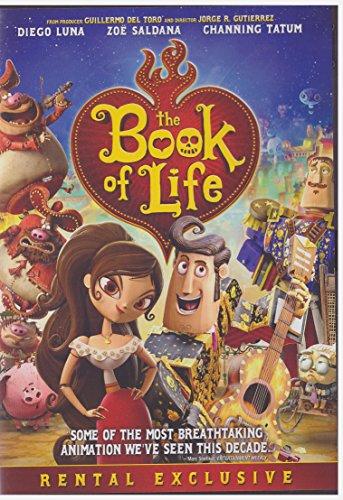 Book of Life (Dvd,2014) Rental Exclusive