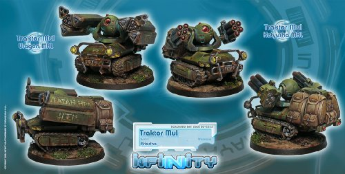 Infinity: Ariadna  Traktor Mul