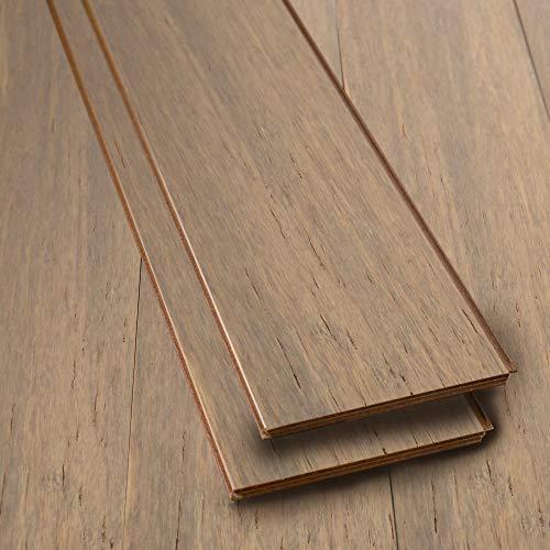 SELKIRK Hardwood Bamboo Flooring Planks Solid Strandwoven Uniclic Locking System Maxwell SK55590 Sample
