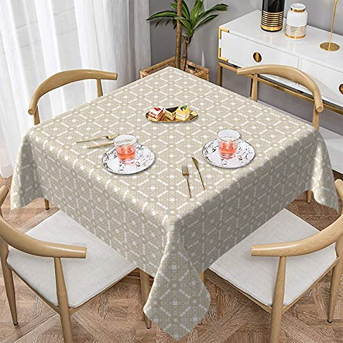 Indoor Outdoor Celtic Knot Tablecloth for Kitchen Dining | Tabletop | Decoration | Parties | Weddings | Spring/Summer | Party/Picnic Tablecloth