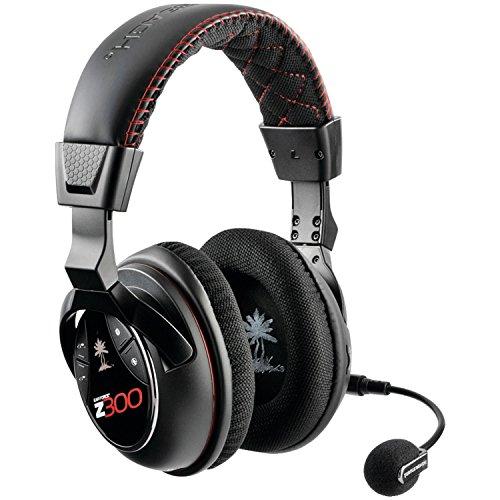 Turtle Beach Ear Force Z300 Binaural Diadema Negro, Rojo - Auriculares con micrófono (PC/Juegos,...