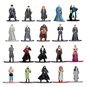 Dickie- Harry Potter Set 20 Figuras de Metal, Multicolor, 4Cm (3185000)