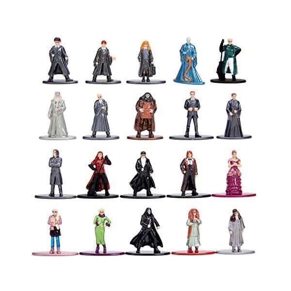 Dickie- Harry Potter Set 20 Figuras de Metal, Multicolor, 4Cm (3185000) , color/modelo surtido 2