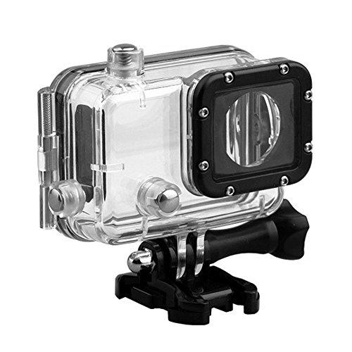 UxradG Action Camera 30M Onderwater Bescherming Cover, Waterdichte Kasten, Behuizing Duikbeschermer voor GitUp Git1/Git2