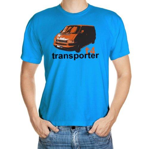 ShirtShack Nuevo Cool T4 Transporter Mens Camisetas S M...