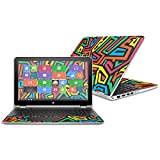 Mightyskins Skin Compatible with Hp Pavilion X360 15.6' (2016) - Hyper | Protective, Durable, and Unique Vinyl Decal Wrap Cover | Easy to Apply, Remove, and Change Styles | Made in The USA