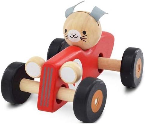 CZLSD Toys Wooden Racing Wooden- Tod Award Cars-Push-Along Max 58% OFF Educational